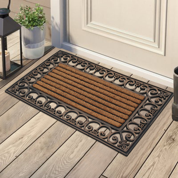 Rubber Finished Outdoor Doormat