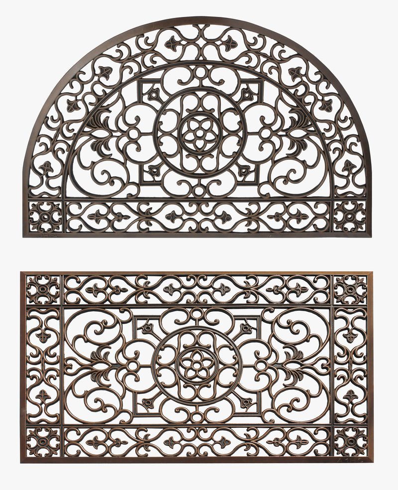 Rubber Grill 2-Piece Doormat