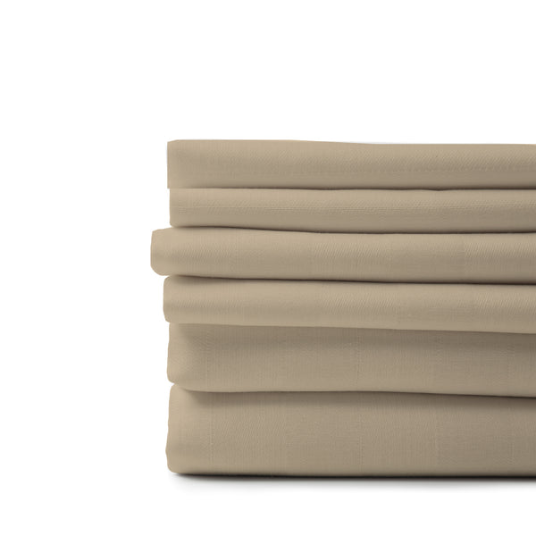 Organic Cotton Sheet Bundle-Sand