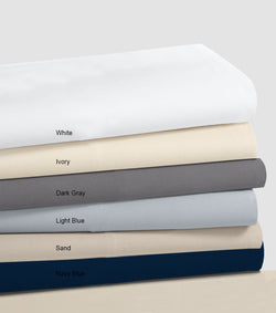 Pack Of 6 Multi Color Fitted Sheets