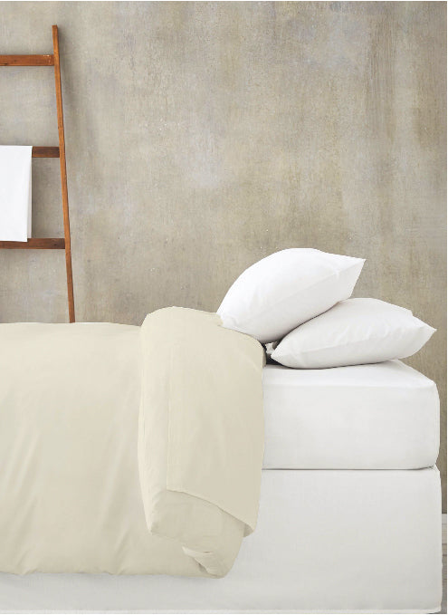 Organic Cotton Wrinkle Free Duvet Set