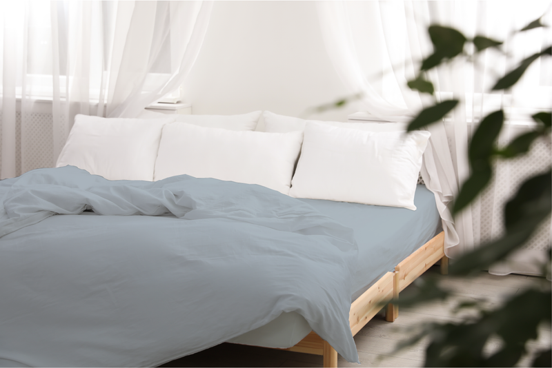 Organic Cotton Wrinkle Free Sheet Set - A1HCSHOP