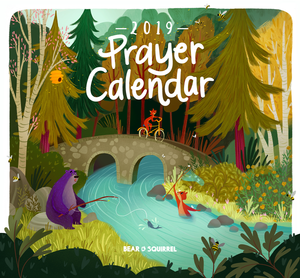 2019 Prayer Calendar Cover