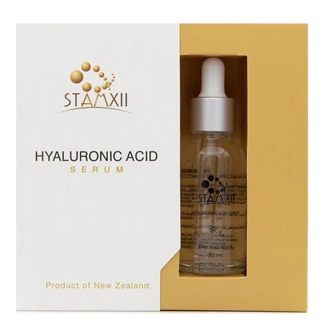 STAMXii Hyaluronic Acid New Zealand Plant Stem Cells Anti-Aging Face Serum, 30ml