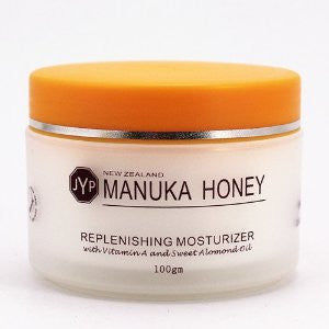 JYP New Zealand Manuka Honey Replenishing Moisturizer with Vitamin A and Sweet Almond Oil, 100g