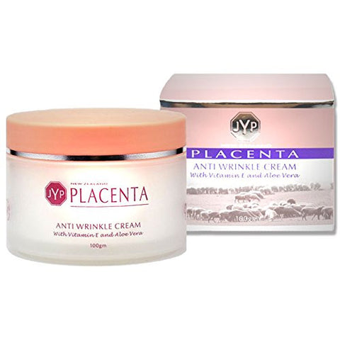 JYP New Zealand Placenta Day Wrinkle Cream with Vitamin E and Aloe Vera, 100g