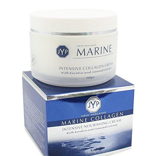 JYP New Zealand Marine Collagen Intensive Nourishing Cream with Keratin and Seaweed Extract, 100g