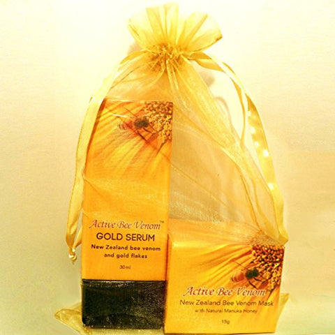 Gift Pack - Active Bee Venom Face Cream Mask 15g & Active Bee Venom Gold Serum 30ml
