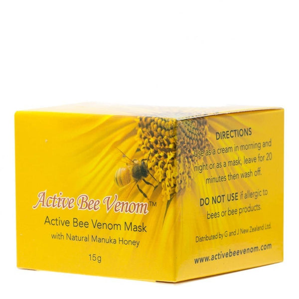 New Zealand Bee Venom Lip Plumper 4.5g + New Zealand Bee Venom Mask 15g