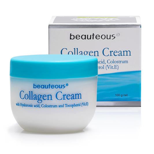 New Zealand Natural Beauteous Collagen Cream & Placenta Cream (2 creams)