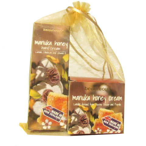 Gift Set - beauteous Manuka Honey Face Cream and Manuka Honey Hand Cream