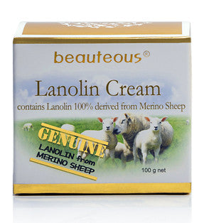 New Zealand Natural Beauteous Collagen Cream & Lanolin Cream (2 creams)