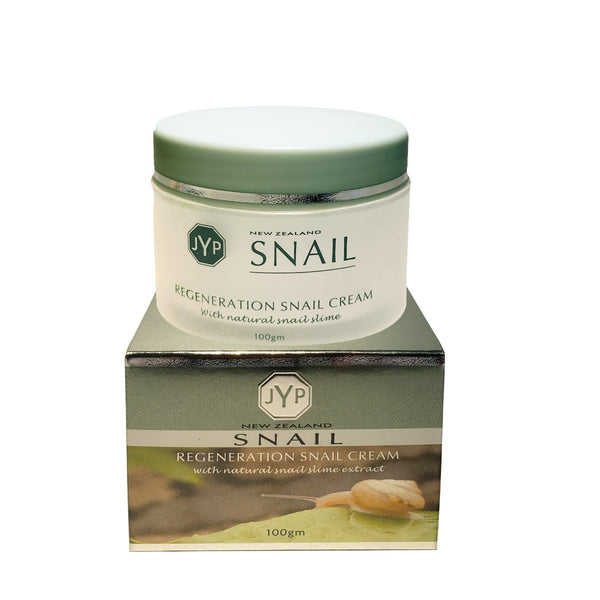 JYP New Zealand Regeneration Snail Cream with Natural Snail Slime, 100g