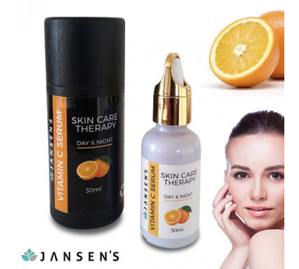 Jansen's Vitamin C Serum, Skin Therapy Day and Night, 30 ml