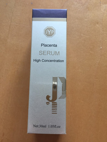 JYP High Concentration Placenta Serum w Hyaluronic Acid & Seaweed Extract, 30ml