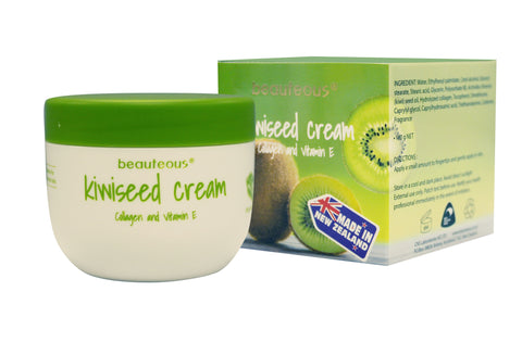 beauteous Kiwi Seed Cream with Collagen and Vitamin E, 100g