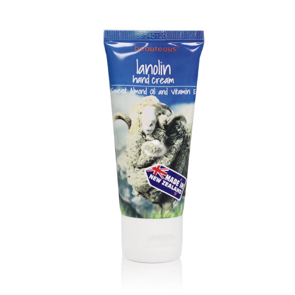 beauteous Lanolin Hand Cream with Almond Oil and Vitamin E, 50g