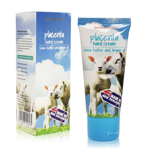 beauteous Placenta Hand Cream with Shea Butter and Argan Oil, 50g