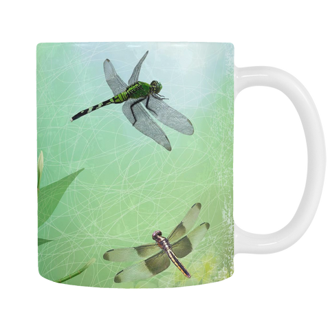 Dragonfly Green 11oz Mug