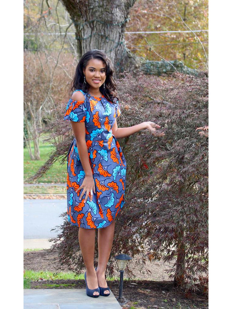 african-cold-shoulder-ankara-gown-church-dress