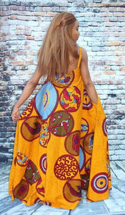 african maxi gown by ashanis