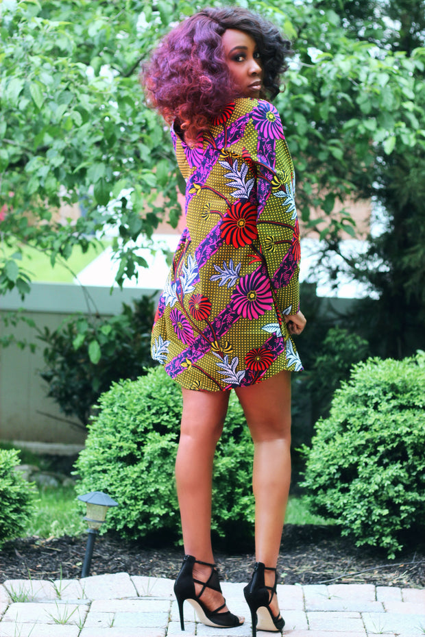 african mini dress for parties weddings