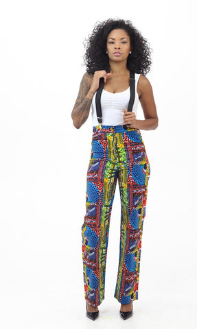 Trixie Pants - African Print
