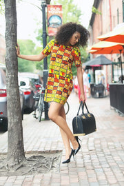 African Party Dress - Zaria - ASHANIS COLLECTION