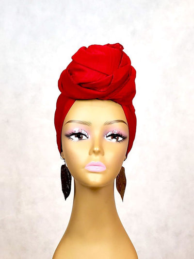 deep read head wrap or scarf