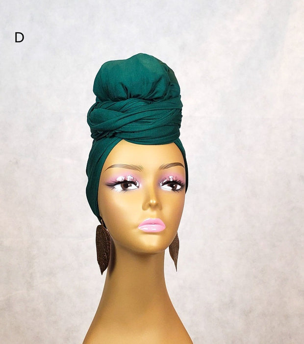 green head wrap for sale. Jersey fabric