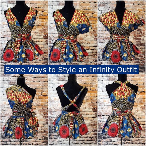 how to wear infinity tops and dresses
