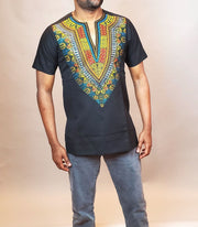 Men's African Dashiki Shirt | Ankara Shirts for Men