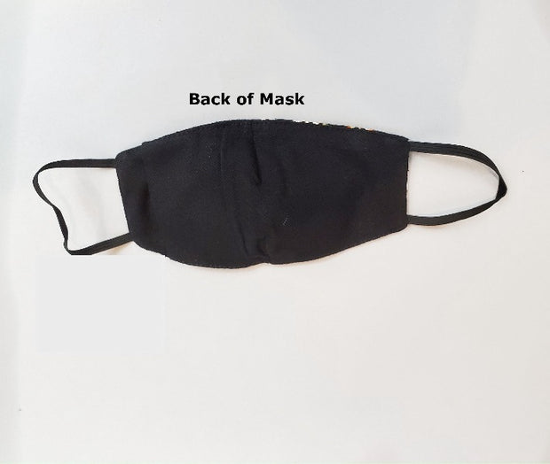 kids face mask with filter pocket