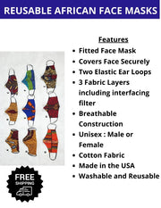 cloth fabric face masks