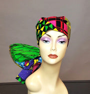ankara head scarf