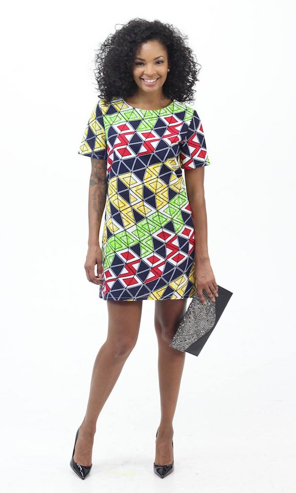 pretty african dresses in USA shopping
