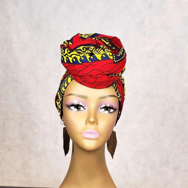 Authentic African Print Head Wraps