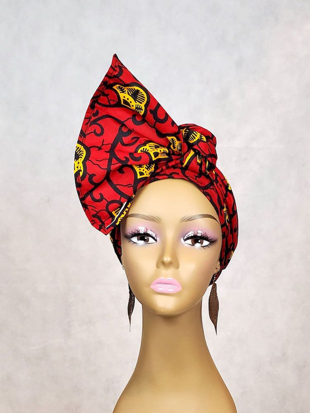 red head wrap