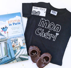 Mon Cheri T-Shirt from Cocoa & Hearts