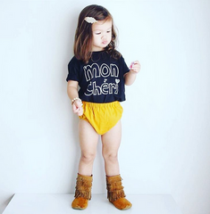 Kids Mon Cheri T-Shirt from Cocoa & Hearts