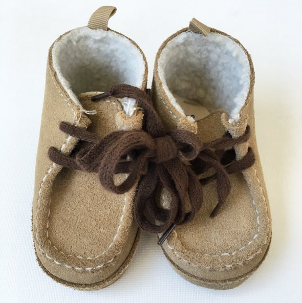 Baby Gap Tan Chukkas (6-12m)