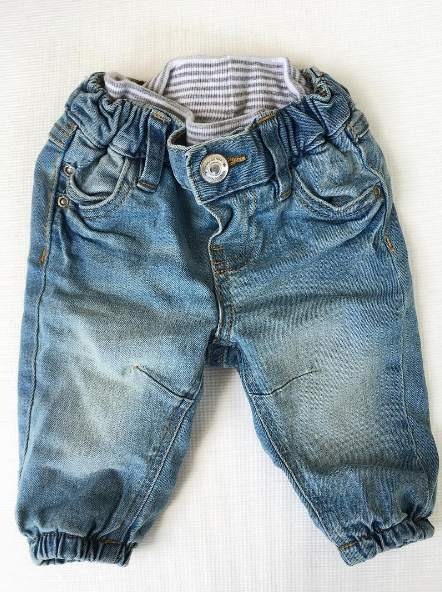 H & M Baby Jeans (0-3m)