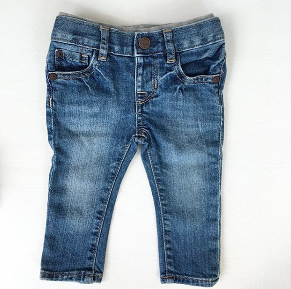 Baby Gap Faded Skinny Jeans (6-12m)