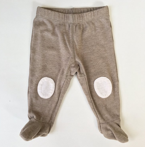 Gymboree Full Tan Leggings (6-9m)