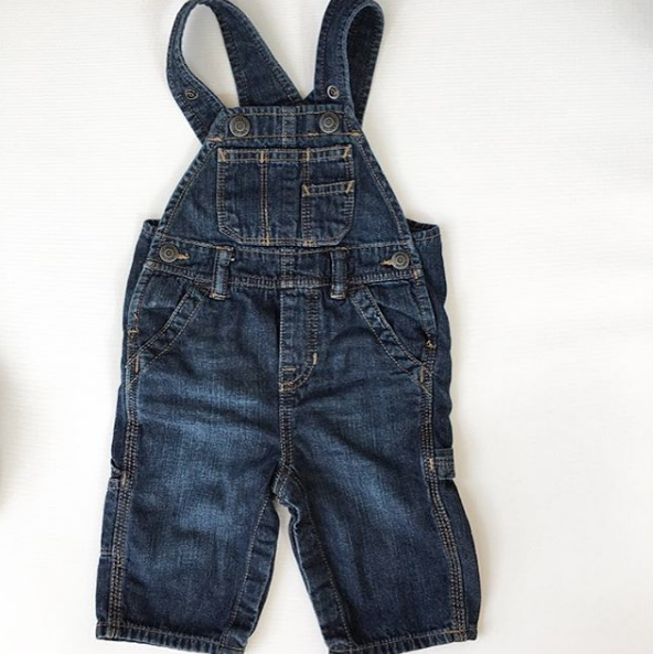 Baby Gap Denim Overalls (6-12m)