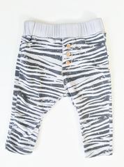 Zara Kids Zebra Leggings (6-9m)