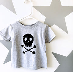 Kids Skull & Bones T-Shirt from Cocoa & Hearts