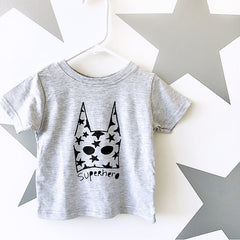 Kids Superhero T-Shirt from Cocoa & Hearts