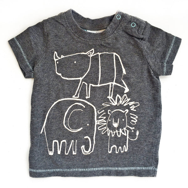 Next Baby Animal T-shirt (3months)