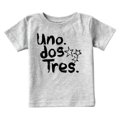 Kids Uno Dos Tres T-Shirt from Cocoa & Hearts